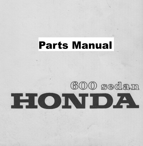 repair manual honda n600 sedan z600 coupe car parts an600 az600 rh honda600carparts com Honda Civic Wiring Schematics Honda Accord Wiring Harness Diagram