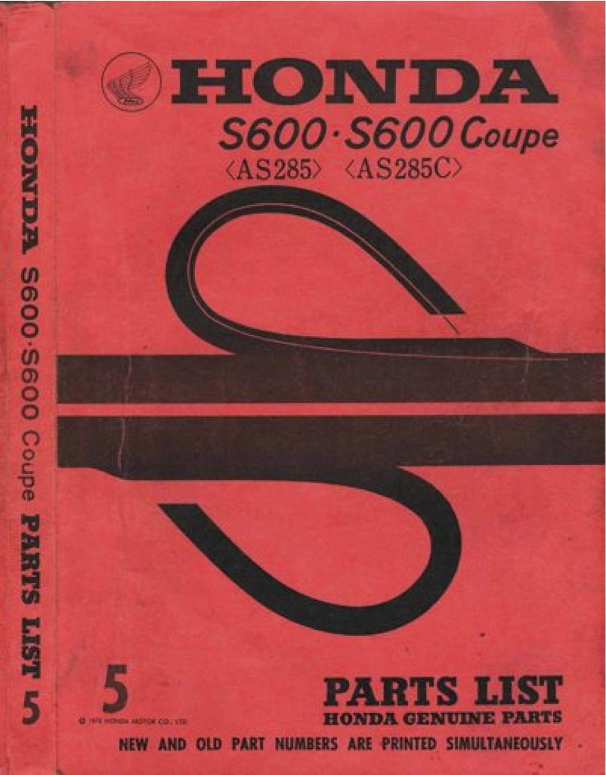 Marvelous Repair Manual Honda N600 Sedan Z600 Coupe Car Parts An600 Az600 Wiring Cloud Nuvitbieswglorg